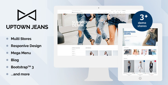 Uptown Jeans-Responsive Theme