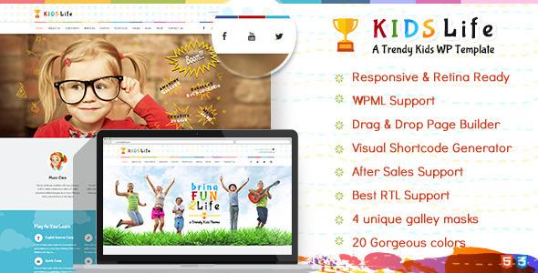 Kids Life-Shopify Kids' Website Theme
