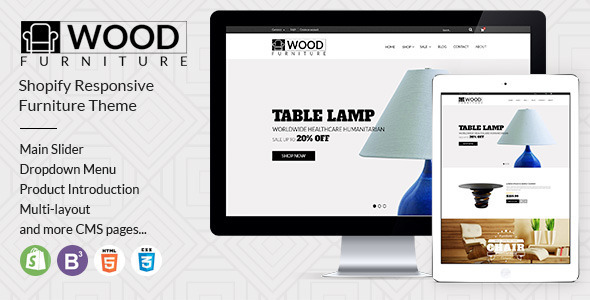 Wood Furniture Decoration-A Theme for Furniture Ecommerce