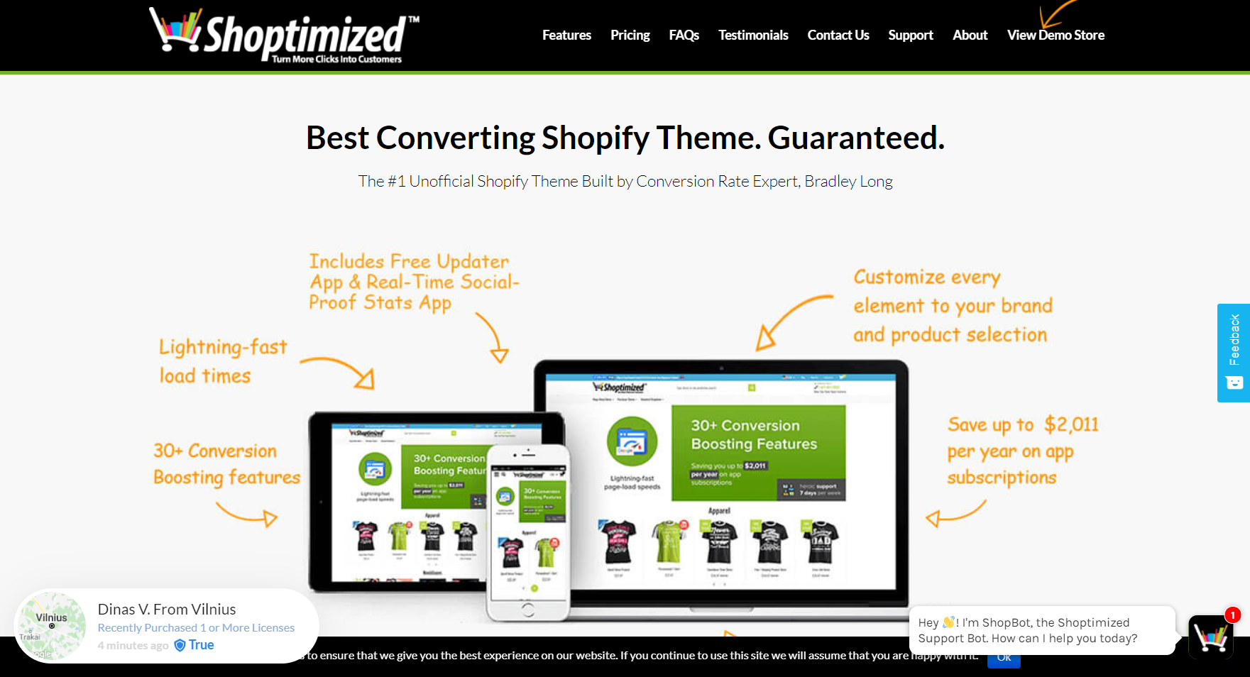 Shoptimized™ - Highest Converting Shopify Theme