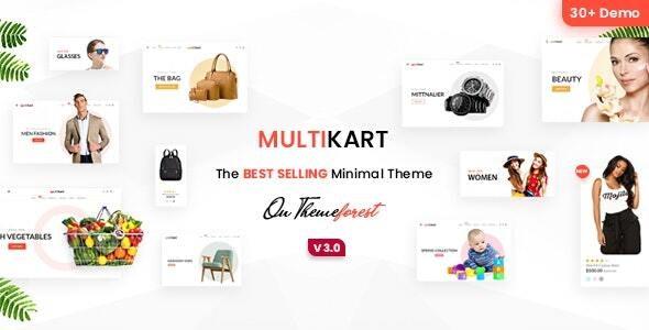 Multikart- Multipurpose Sections Shopify Theme