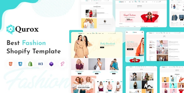 Qurox - Responsive Shopify Fashion Theme