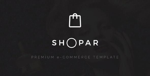 Shopar   Premium e-Commerce Shopify Theme