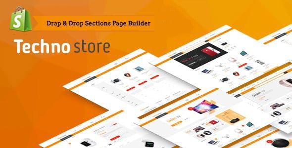 Techno Store - Electronics eCommerce Shopify Theme