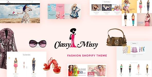 Classy Missy – Fashion Store Shopify Theme