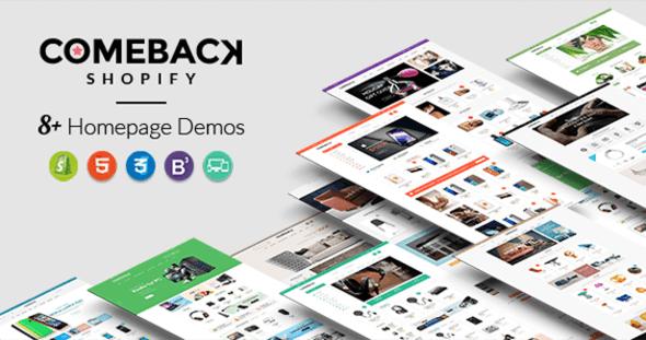 Comeback - Advanced Shopify Theme Option