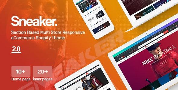 Sneaker - Multipurpose, Fashion, Shoes Store Shopify Theme