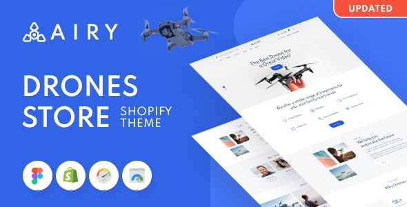 Airy - Drones Store Shopify Theme